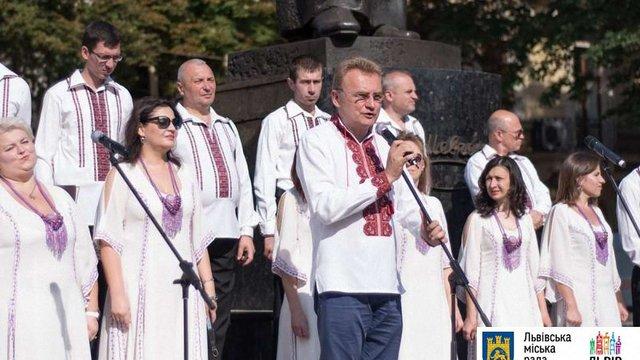 У Львові відзначили 30-річчя відновлення діяльності товариства «Просвіта»