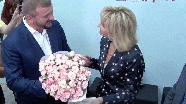 Дружина генпрокурора Ірина Луценко отримала у Львові друге свідоцтво про шлюб