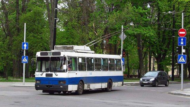У Львові тимчасово ліквідують тролейбусний маршрут №10