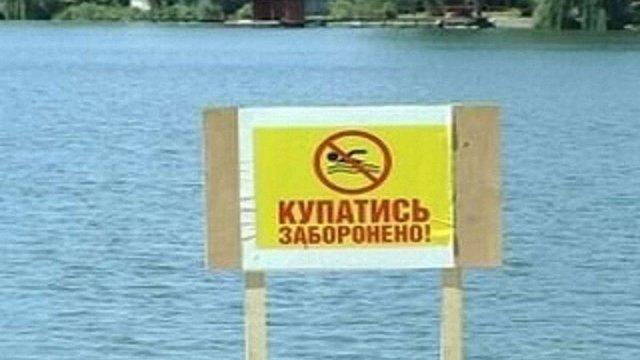 МОЗ склало карту непридатних для купання рекреаційних зон України