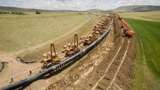 Україна отримуватиме газ із Азербайджану новим газогоном