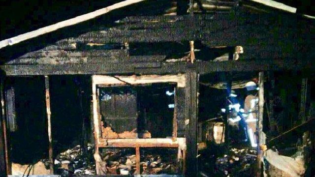 У нічній пожежі під Львовом згорів ресторан «Козацька рада»