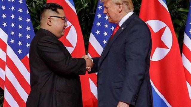 Дональд Трамп показав Кім Чен Ину відео про перспективи денуклеаризації КНДР