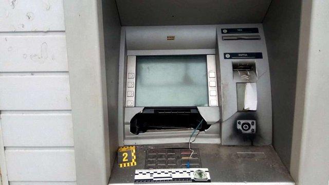 В Харкові зловмисники підірвали і пограбували банкомат