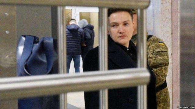 Савченко попросила Путіна помилувати українських в'язнів «для миру між Україною та Росією»