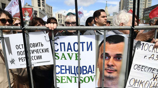 Олег Сенцов розпочав другий місяць голодування в російській тюрмі