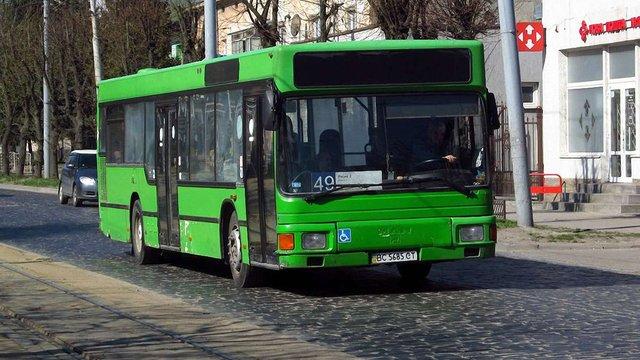 Львівський автобусний маршрут №49 у вересні передадуть комунальному АТП-1