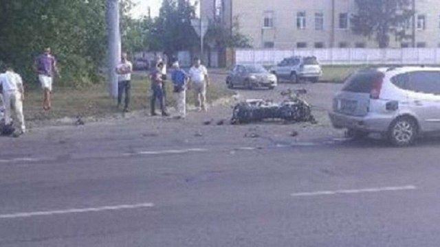 У Львові мотоцикліст відсудив ₴125,6 тис. у водія авто, який його збив