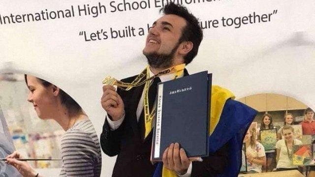 Закарпатський школяр став одним з переможців Genius Olimpiad  у США