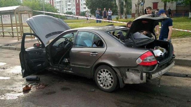 В Черкасах від вибуху автомобіля загинув місцевий бізнесмен
