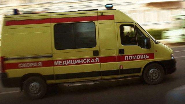 В центрі Москви таксист в'їхав у натовп футбольних уболівальників