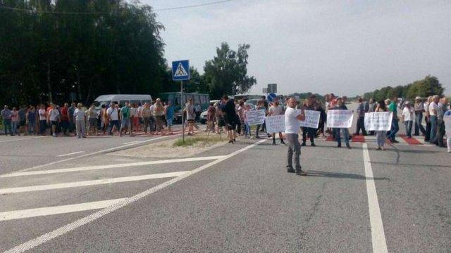 Синютка вимагає покарати організаторів блокування траси під Миколаєвом