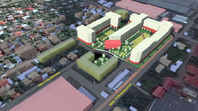 Біля ринку «Південний» у Львові хочуть збудувати багатоповерхівки на місці автостоянки