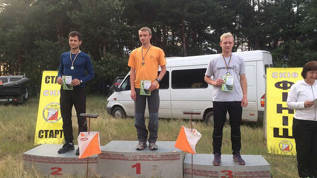 Двоє представників Львівщини стали призерами Кубка України зі спортивного орієнтування