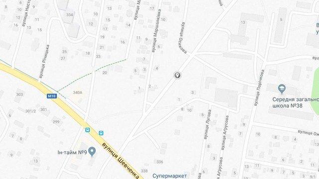 Безіменну вулицю в Рясному назвали Калиновою