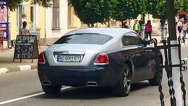 74-річна свекруха працівниці Львівської митниці стала власницею Rolls-Royce за $350 тис.