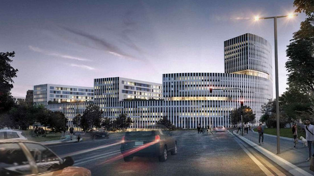 На території інструментального заводу у Львові зведуть багатоповерхівки та офісний центр
