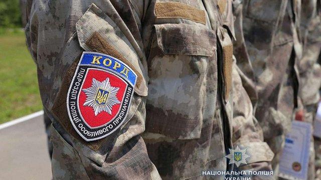 Поліція завершила формування підрозділів КОРД по всій Україні