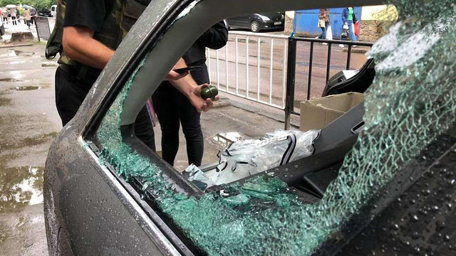 У автомобілі відомого львівського активіста виявили ручну гранату