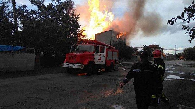Масштабна пожежа сталася на спиртовій базі у Тернопільській області