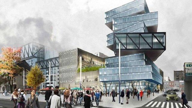 На території львівського заводу «Кінескоп» зведуть ТРЦ та бізнес-центр