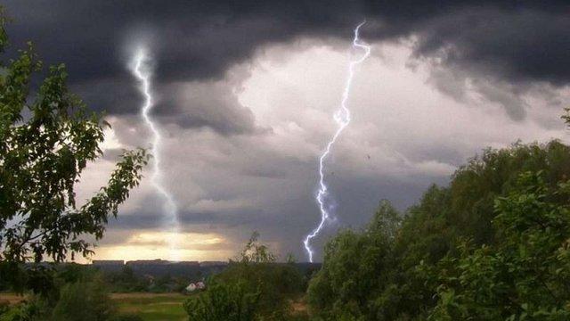 Синоптики попереджають про грози та град у Львові та області