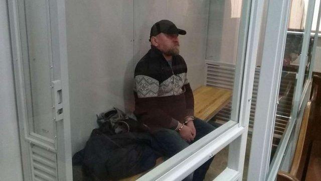 Суд продовжив тримання під вартою Рубану на 2 місяці