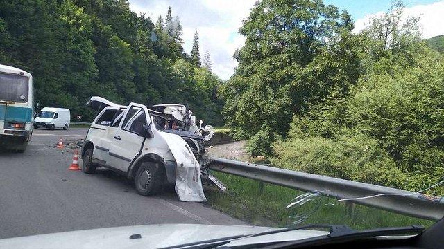 Внаслідок ДТП у Сколівському районі загинув 66-річний чоловік