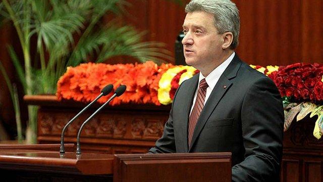 Президент Македонії відмовився підписувати закон про зміну назви своєї держави