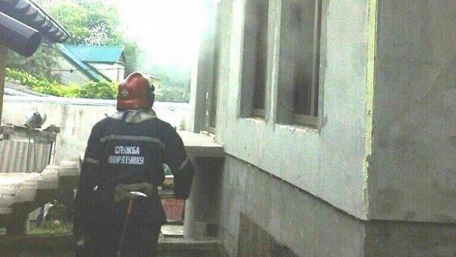 Троє людей постраждали під час пожежі у Червонограді