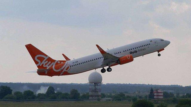 Зі Львова затримується виліт рейсового літака SkyUp до Хургади