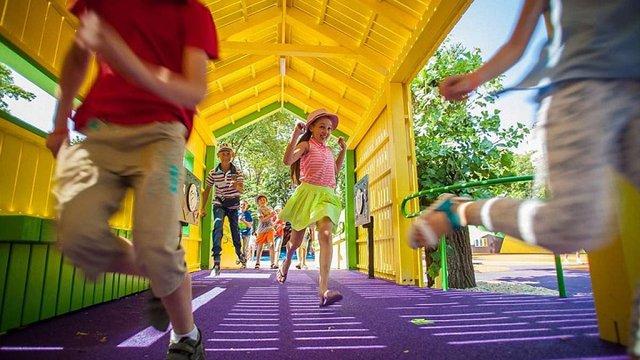 Марина Порошенко відкрила у Дніпрі перший в Україні інклюзивний парк