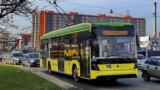 «Львівелектротранс» планує відремонтувати тролейбусні лінії на трьох магістральних вулицях