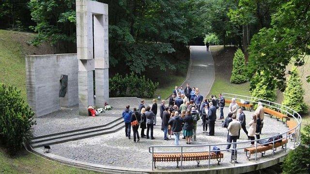 У Львові вшанували пам'ять професорів, розстріляних у 1941 році