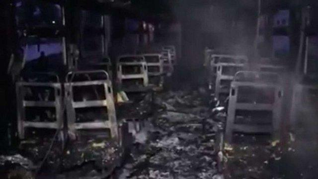 У Коломиї загорівся потяг із пасажирами всередині