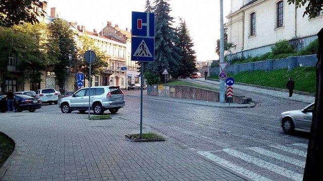Біля Органного залу і готелю «Дністер» у Львові впровадили нову схему руху транспорту