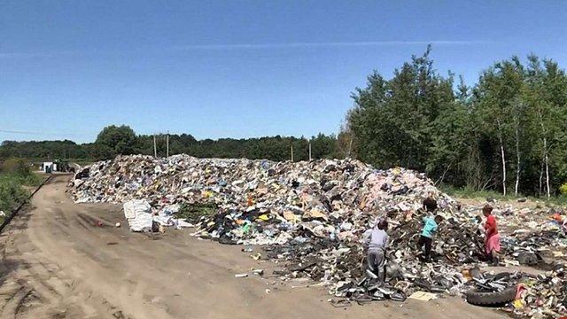 Стихійне сміттєзвалище на вул. Північній у Львові пообіцяли прибрати протягом місяця