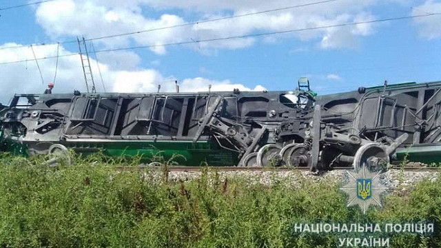 Через аварію потяги між містами Західної України та Одесою тимчасово змінили маршрути