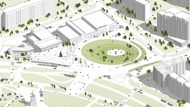Мер Львова вручив премії авторам найкращих проектів облаштування площі біля кінотеатру на Сихові