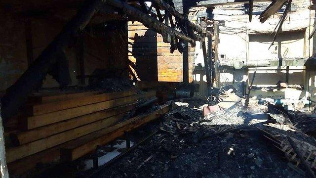 У Бориславі внаслідок пожежі згорів дах житлового будинку