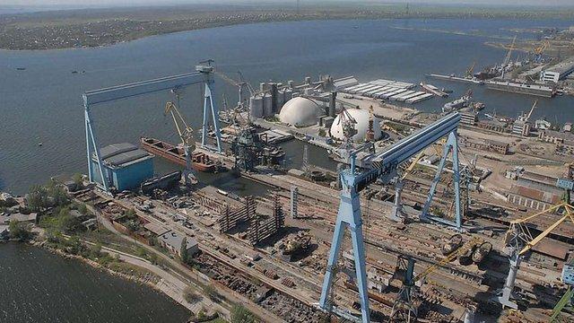 Найбільший суднобудівний завод в Україні став банкрутом