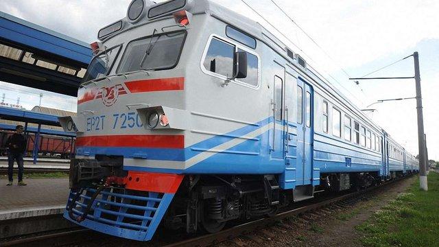 На маршрут Львів-Сянки запустили модернізований електропоїзд
