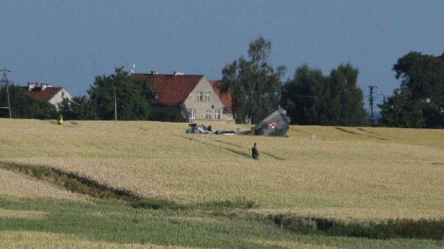 У Польщі розбився бойовий винищувач МіГ-29