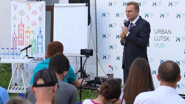 Мер Львова розповів про стратегію ідентичності міста на Urban Talks у Луцьку
