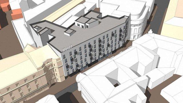Мерія погодила будівництво нового готелю у центрі Львова