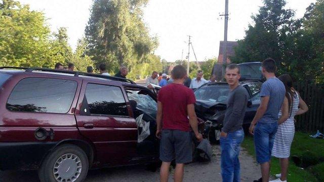У ДТП в Яворівському районі постраждали семеро людей