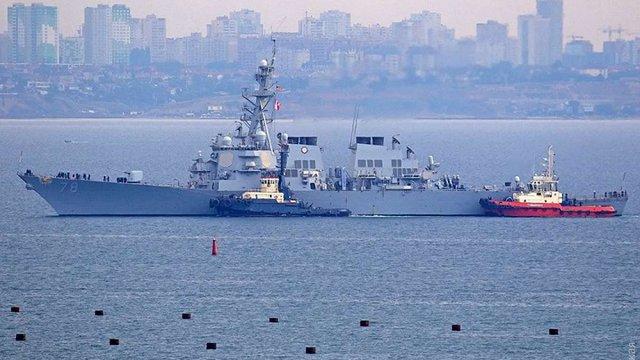 Американський ракетний есмінець прибув до Одеси