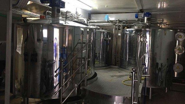 На Львівщині з підпільної пивоварні вилучили 7 тонн пива