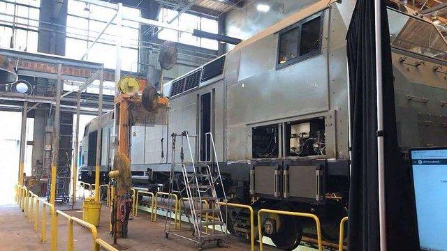 General Electric виготовила перший локомотив для України