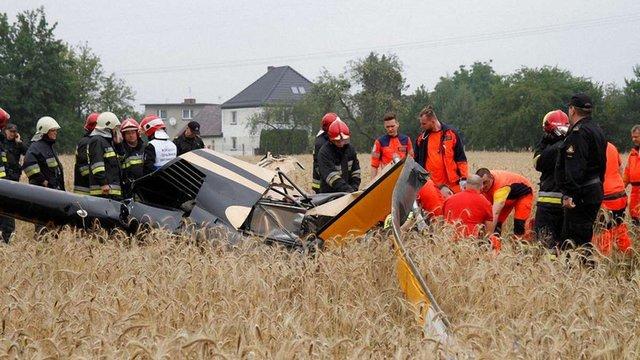 У Польщі розбився гелікоптер, загинули пілот та пасажир